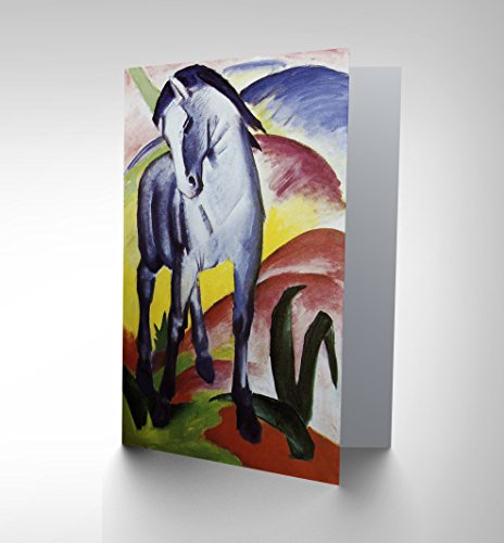 franz-marc-blue-horse-i-1911-old-master-birthday-blank-greetings-card-cp1100