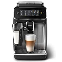 PHILIPS 3200 Series Fully Automatic Espresso Machine, Black, EP3246/73