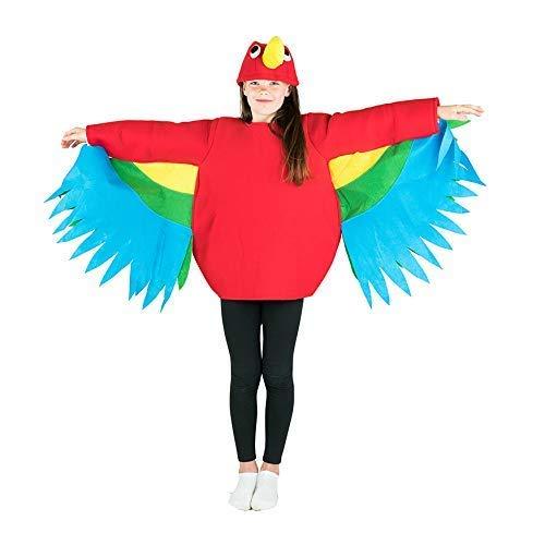 Bodysock® Papagei Kostüm für Kinder