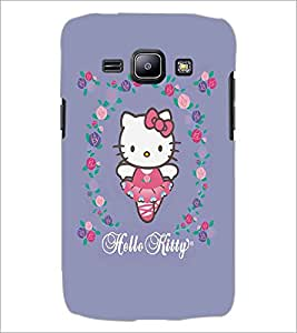 SAMSUNG GALAXY J1 HELLO KITTY Designer Back Cover Case By PRINTSWAG
