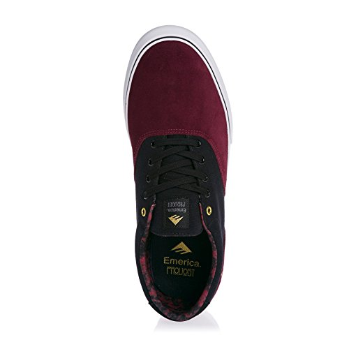 Emerica Provost Slim Vulc, Skateboard homme Red