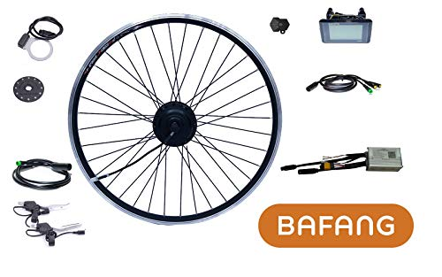 "Bafang E-Bike Umbausatz 29\"" 250W 36V Hinterrad eingespeicht für Kassette 8/9/10 RWD Kit IP65 C961 G020 Nabenmotor BF-RWDC-25036-C961-29"