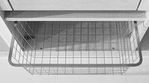 Express Möbel Wäschekorb inkl. 50er Wäscheboden   Grau BxHxT 43x19x53 verschiedenes Zubehör zur Auswahl