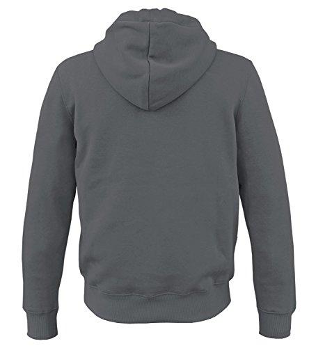 Alpha Ind. Basic Zip Hoody Kapuzen Sweater Greyblack