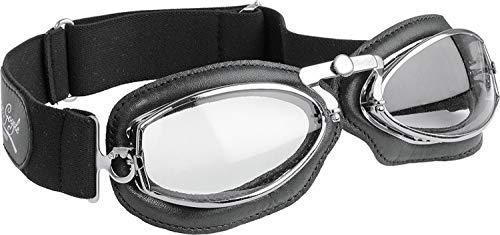 Brille Aviator Vintage - Retro Flieger-Motorrad-Sonnenbrille für Biker - auf dem Bike oder in der Freizeit bequem zu tragen.