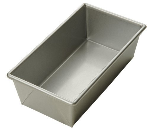 Focus Foodservice Commercial Bakeware 12-1/4 by 4-1/2-Inch Loaf Pan, 1-1/2-Pound by Focus Foodservice 1.5 Lb Loaf Pan