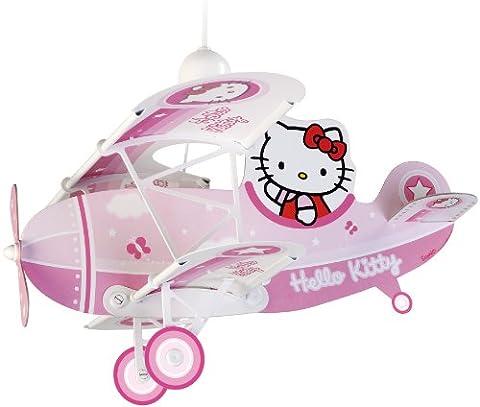 Dalber 54252 Hängeleuchte Flugzeug Hello Kitty Kinderzimmer Lampe Leuchte (Mickey Mouse Lampe)