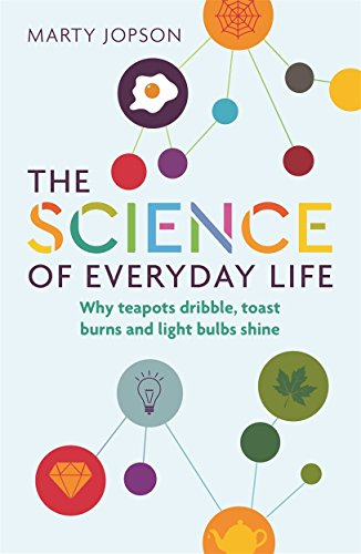 The Science of Everyday Life: Why Teapots Dribble, Toast Burns and Light Bulbs Shine (English Edition) por Marty Jopson