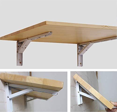Lpymx Tavolo Da Parete Scrittoio Pieghevole A Muro Pieghevole Tavolo Da Cucina In Legno Tavolo Pieghevole A Muro