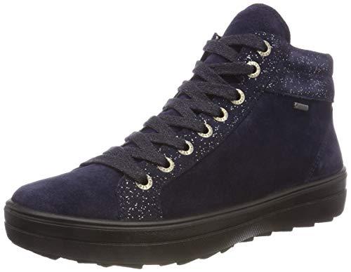 Legero Damen Mira Hohe Sneaker, Blau (Blue 82), 42 EU