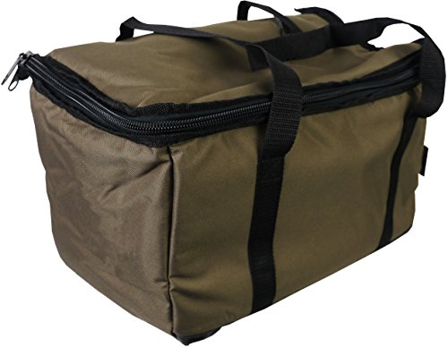 Cookware Bag Carryall Stove Kettle Carry Carp Fishing Luggage (Green)