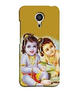 PrintVisa Designer Back Case Cover for Meizu MX5 (kanhaiya enjoying the childhood)