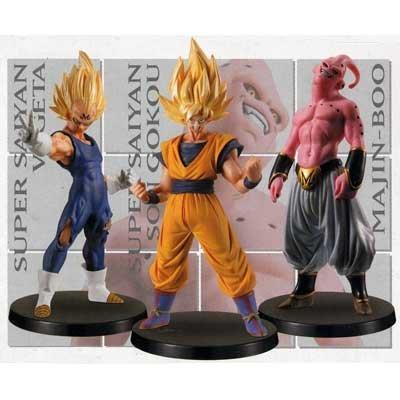 Dragon Ball Z figura DX prefabricados de alta calidad VOL.2.5 ~ apariencia Buu ... los tres sets (jap?n importaci?n)
