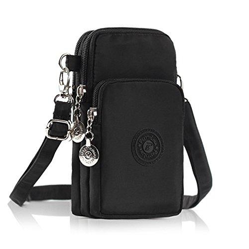 Phone Tasche, M.Way verstellbar schultergurt Tasche, Mode Nylon Schultertasche , Damen Handy...