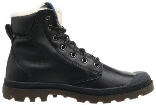 Palladium Pampa Sport Cuff Wps, Chaussures bateau mixte adulte Noir - Schwarz (Black/Dark Gum)
