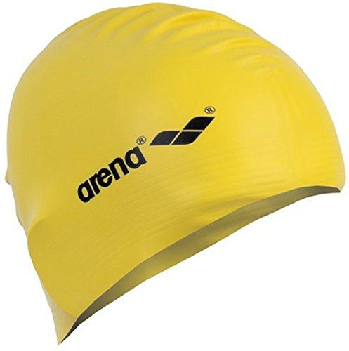 arena Unisex Badekappe Soft Latex 91294 (Gelb/Schwarz)