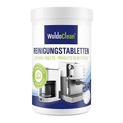 Reinigungstabletten für Kaffeevollautomaten & Kaffeemaschine 2g pro Tablette - 150x Reinigungstabs kompatibel für die Reinigung von Delonghi Saeco Jura Melitta Bosch Siemens Kaffeeautomaten
