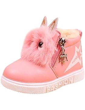 Odejoy Kinder Mode Jungen Mädchen Sneaker Stiefel Kinder Warm Baby Beiläufig Schuhe Kinder Behalten warm Baumwolle...