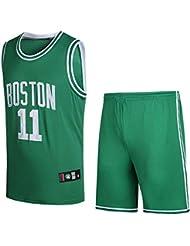 SansFin Maillot NBA Celtics Owen Shorts Tenue de Basket numéro 11