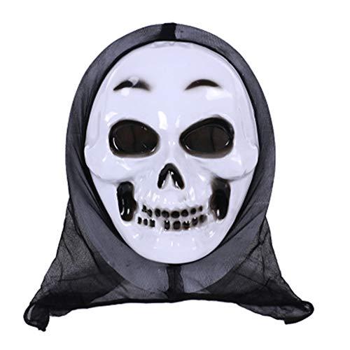 Senoow Halloween Maske Schädel Geist Scary Terror Schrei Maskerade Party Cosplay Kostüm Für ()