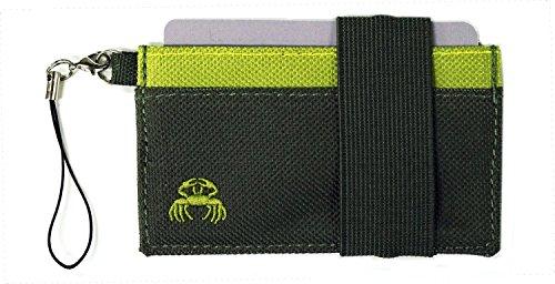 Crabby Gear Herren-Geldbörse, grün