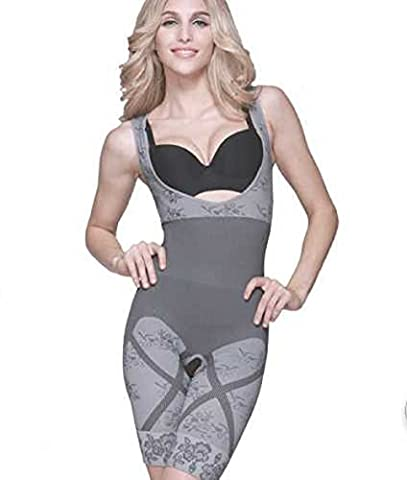 Diamond Neuer Frauen-Magie Abnehmen Bamboo Shaper Suit Firm Steuer shaperwear (XXL)