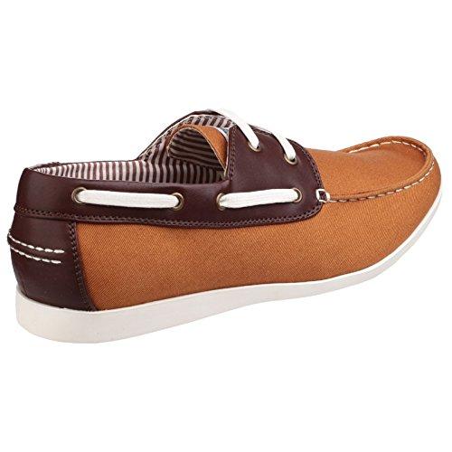 Lambretta  Herren Herren Herren Rhode Island Lightweight Lace Up Canvas Boat Schuhes ... da220b
