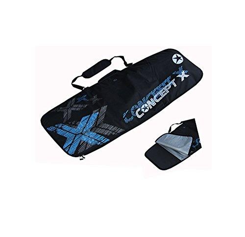 Concept X - Borsone per tavola da kitesurfing, colore: nero 147