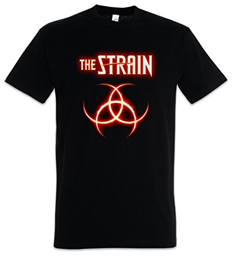 The Strain Biohazard Logo T-Shirt - Del Toro Vampire TV Book The Strain T-Shirt Größen S - 5XL (L) -