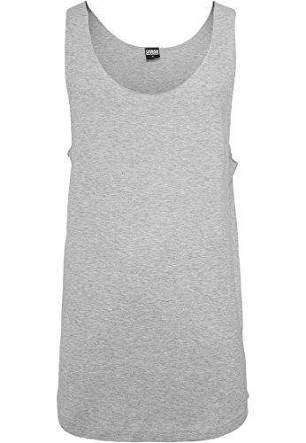 Preisvergleich Produktbild Urban Classics Long Shaped Open Edge Loose Tank T-Shirt Shirt,  Farbe:GREY;Größen:L