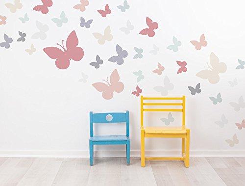 i-love-wandtattoo-was-10357-kinderzimmer-wandsticker-set-schmetterlinge-in-zarten-pastellfarben-40-s