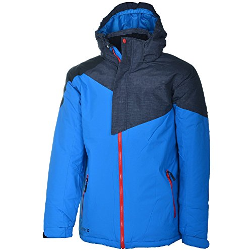 etirel Roland Kinder Jacke Skijacke Kids Winterjacke Blue/Black