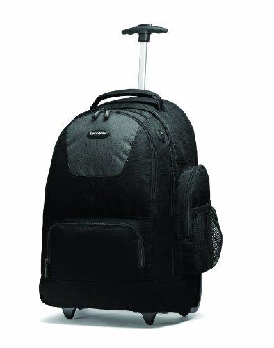 Samsonite 17896-1053 15.4″ Trolley case Negro maletines para portátil – Funda (39,1 cm (15.4″), Trolley case, Negro, Nylon, 2,52 kg)