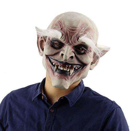 Kostüme Maske Evil Killer Kostüm Scary Zombie Mask Halloween Horrific Demon Auf Ängstliche Atmosphäre Für Ostern Party Erwachsene,A (Demon Killer Kostüm)