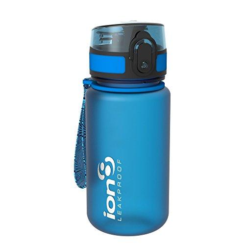 ion8 auslaufsichere Kinder Wasserflasche/Trinkflasche, BPA-Frei, 350ml/12oz