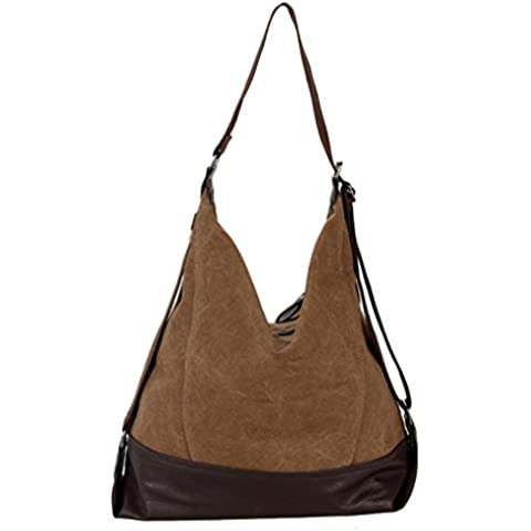 Super moderno tela borsa a tracolla Laptop Bag Hobo Bag