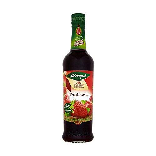Polnischer Erdbeersirup 420 ml (Erdbeer-saft-konzentrat)