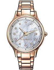 Esprit ES108622003 esprit-tp10862 rosé gold Uhr Damenuhr vergoldet vergoldet 30m Analog Datum rosé