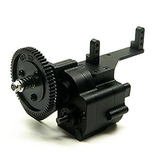 XUNJIAJIE AX2 2 Speed Verteilergetriebe Transfer Case für 1/10 RC Crawler Car Axial Wraith & SCX10/Honcho