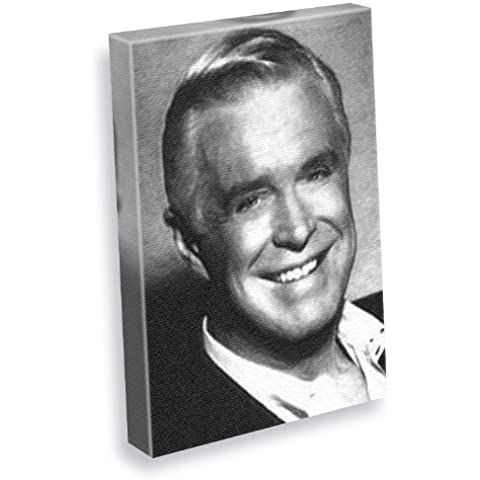 GEORGE PEPPARD - Canvas Print (A4 - Signed by the Artist) #js001