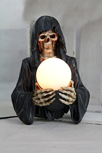 Vamundo Gothic Lampe FÜR DIE Wand # der Tod mit Lampe