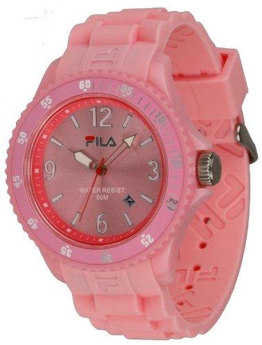 Fila FA-1023-60 - Reloj con correa de acero para hombre, color rosa/gris