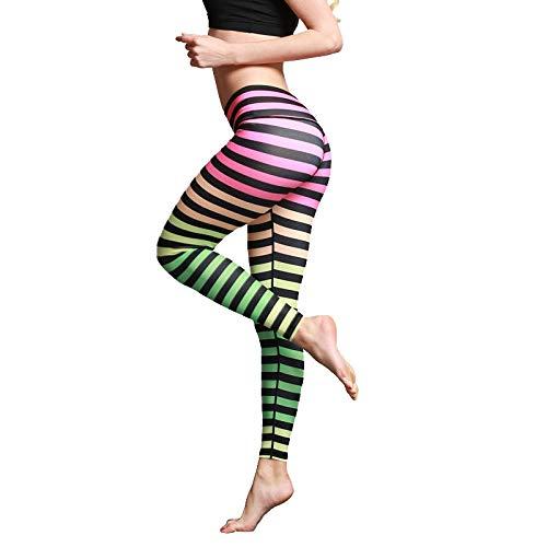 Frauen Hosen Hohe Taille Gedruckt Atmungsaktiv Sport Lässig Stil Oder Alltag Vielseitige Hosen Für Fitness Nahtlose Leggings Sporthose
