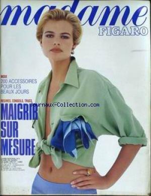 MADAME FIGARO [No 14805] du 28/03/1992 - MODE - ACCESSOIRES - MAIGRIR SUR MESURE.