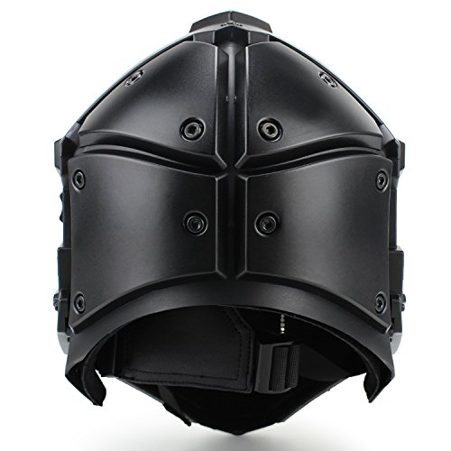 Full-covered taktischen Outdoor Motorrad Helm mit Maske Schutzbrille für Jagd Paintball Military Cosplay Movie Prop - 2