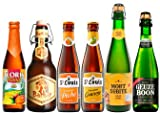 Halloween Bier Paket mit 6 Bierflaschen Süßes Bier mit Mango-Bier + Pfirsich Bier + Honig Bier und Sauerbier mit 3 Geuzen als erfrischend säuerliche Biere