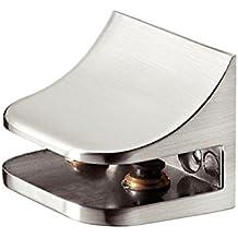 Haefele - Soporte para baldas de cristal y madera bdb503543ae7
