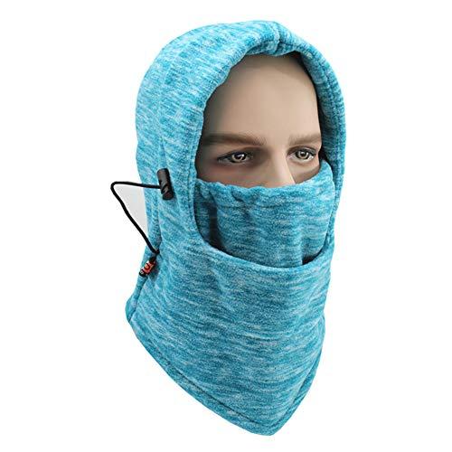 XIAXIACP Windproof Hat, Multifunktionale Cationic Kapuzenhut Maskierte Kappe Outdoor für Männer und Frauen Wasser-Riding Multifunktionshut,6