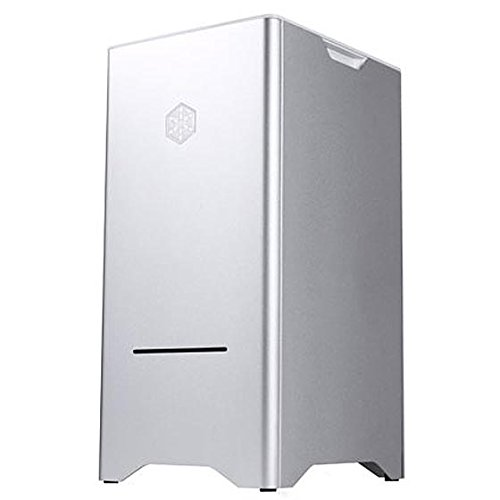 SilverStone SST-FT03S - Cabinet Fortress Mini-Tower mATX, argento