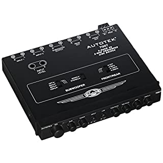 Autotek 7007 4 Band EQ with 2 - Way Crossover & Fade Control